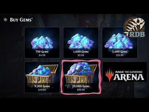 MTG Arena - New Dominaria Update Let's waste our money on 20,000 gems!