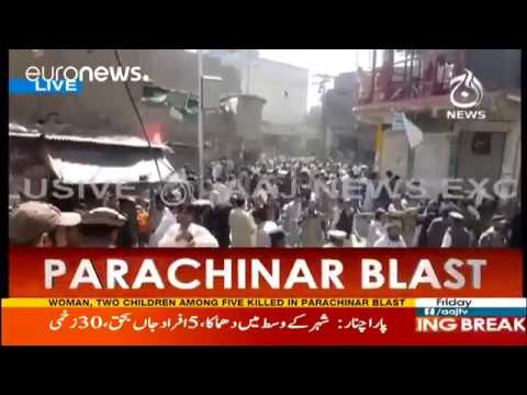 25 killed as Taliban-Pakistan ISI claims deadly Parachinar mosque bomb blast