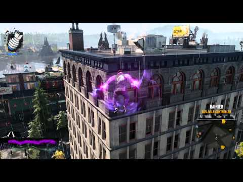inFamous Second Son - Exploring Seattle