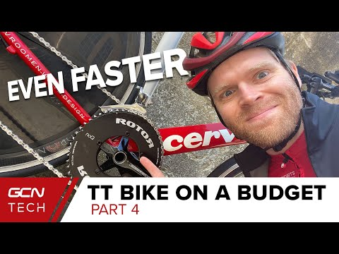 Massive Chainrings & Aero Bars | Time Trial Bike On A Budget Part Four