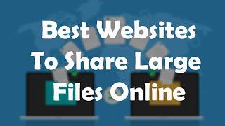 3 Best Large File Sharing Websites | File Transfer Websites 2020 screenshot 3