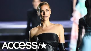 Irina Shayk Slays The Runway Following Her Split From Bradley Cooper!