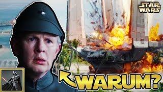 Star Wars: Warum waren die imperialen Offiziere beim Angriff auf Scarif so inkompetent?