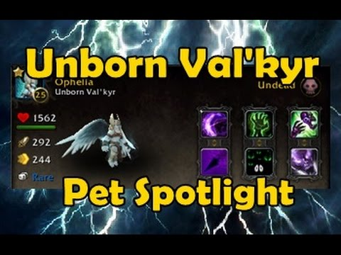 World of Warcraft Unborn Val'kyr battle pet by Game Guides Channel