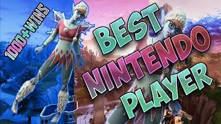Fortnite Best Nintendo Switch Player 1000 WINS (20 BOMB, 3 Wins in a row, and HIGH WIN %)