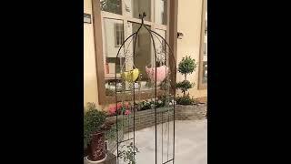 장미아치 가든아치 정원 테라스꾸미기 인테리어 식물 장미…