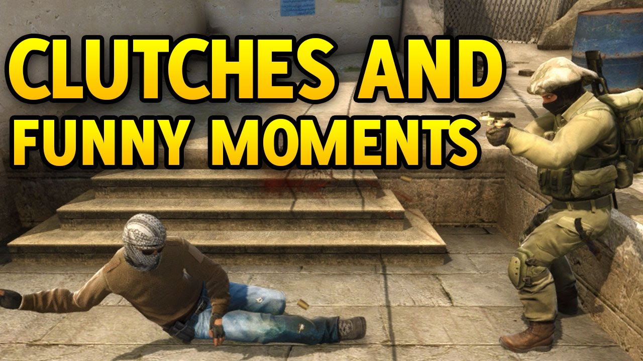 Csgo Clutches And Funny Moments Part