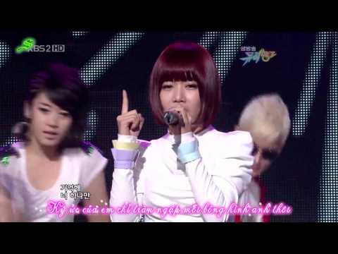 [Vietsub] 090918 TTL (Time To Love) - T-ara & Supernova [Music Bank Comeback Stage]