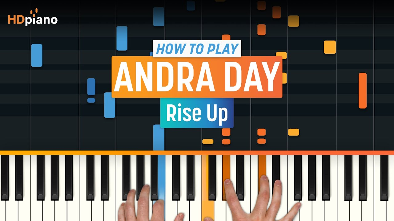 how to play i will rise on piano
