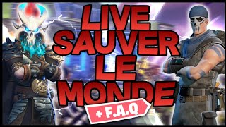 [Live] [Fortnite Save the World] F.A.Q / Let's let the subscribers!
