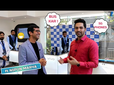 Vivo New Experience Store Tour [Mumbai] - 5G Phones,Iot Devices,Gaming Zone,VR Mode & More