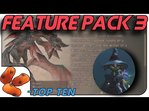 My Top 10 Feature Pack 3 Changes
