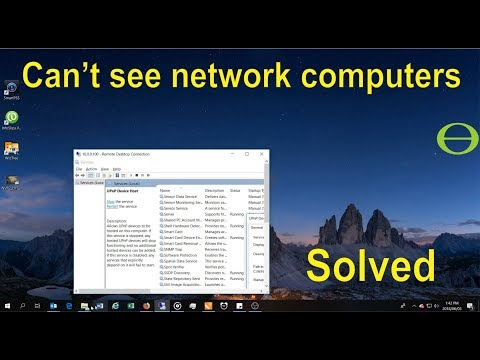 Can't see network computers after upgrade to v 1803 (Windows 10) - solved