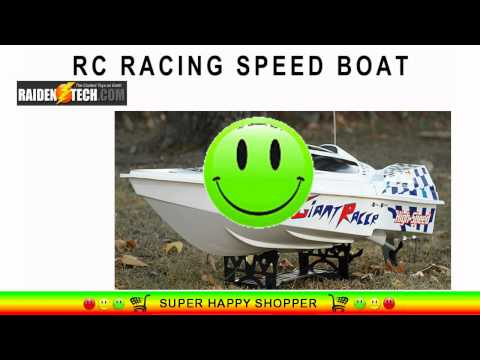 rc-electric-racing-speed-boat---fastest-hydrofoam-sea-fire