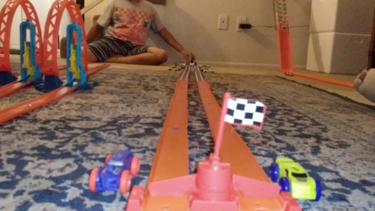 Hot Wheels drag!!! - YouTube