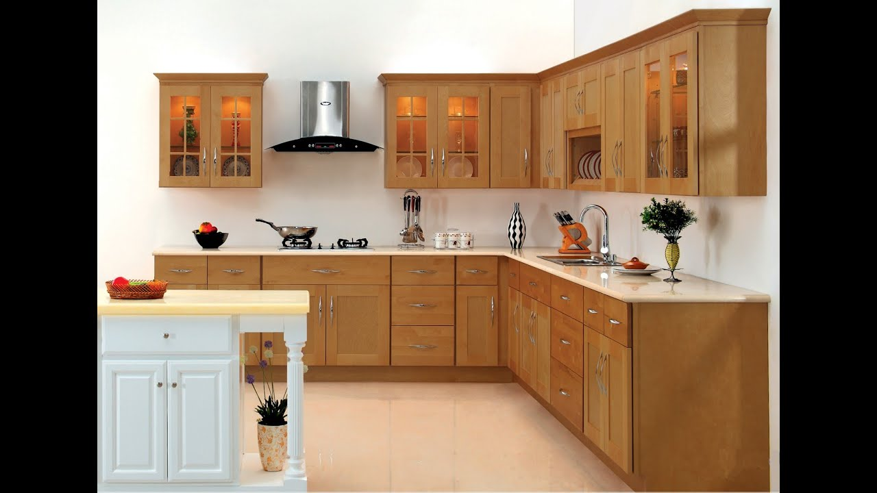 kitchen cabinet designyoutube - Modern Wood Kitchen Cabinets