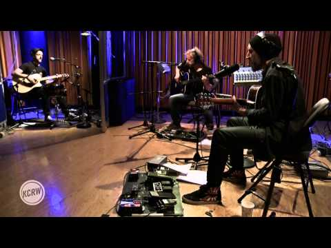 """Fink performing """"Looking Too Closely"""" Live on KCRW"""