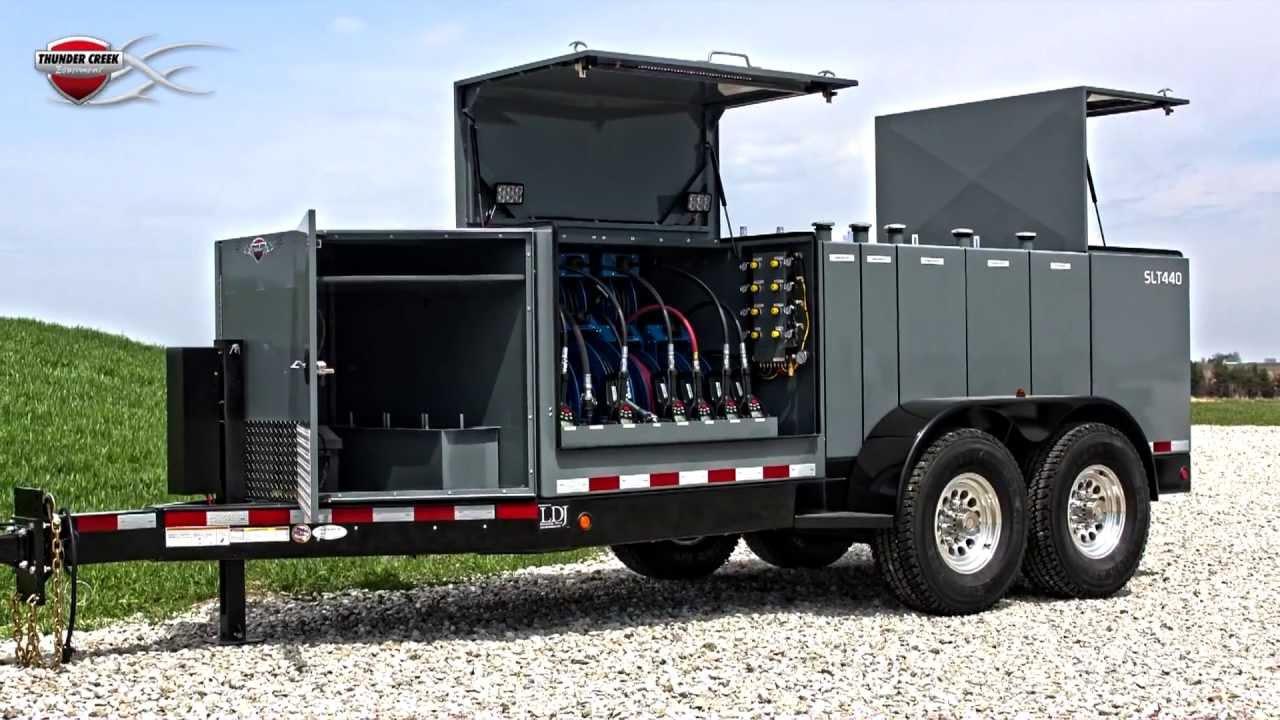 Thunder Creek Equipment Service Amp Lube Trailer Youtube