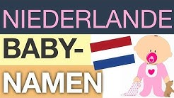 Babynamen – TOP 20 (Niederlande)