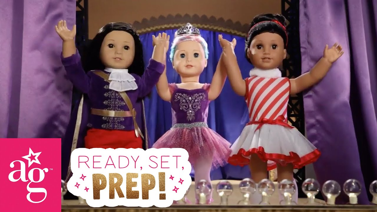How to Shine for the Nutcracker Holiday Talent Show | Ready, Set, Prep Stop Motion | @American Girl