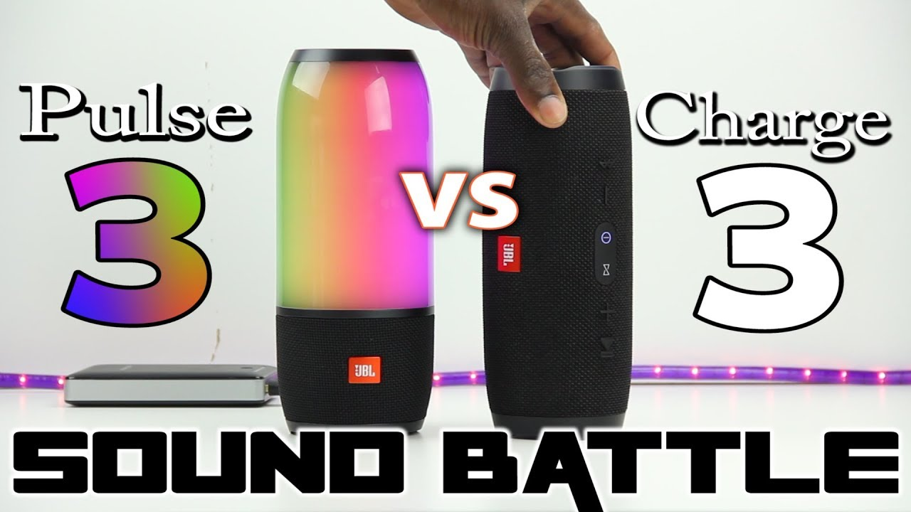 Sound battle jbl pulse 3 vs charge 3 the real sound comparison youtube - Jbl charge 2 vs charge 3 ...