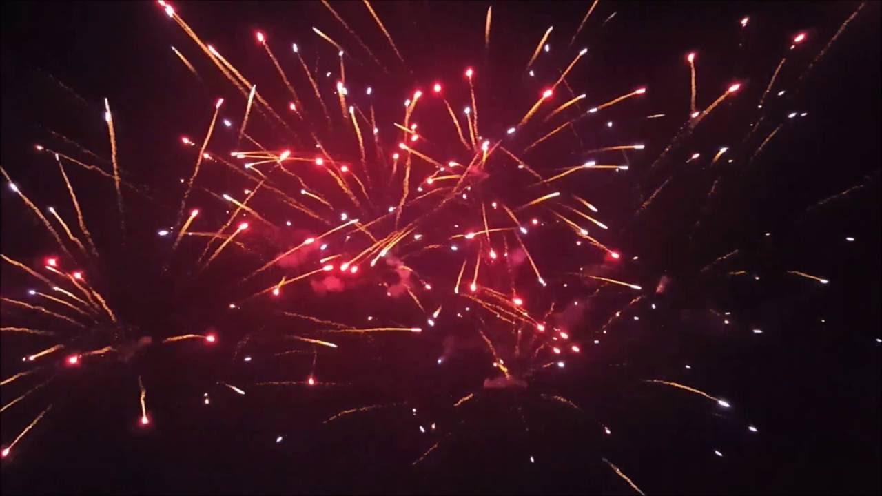 2016 Backyard Fireworks Display
