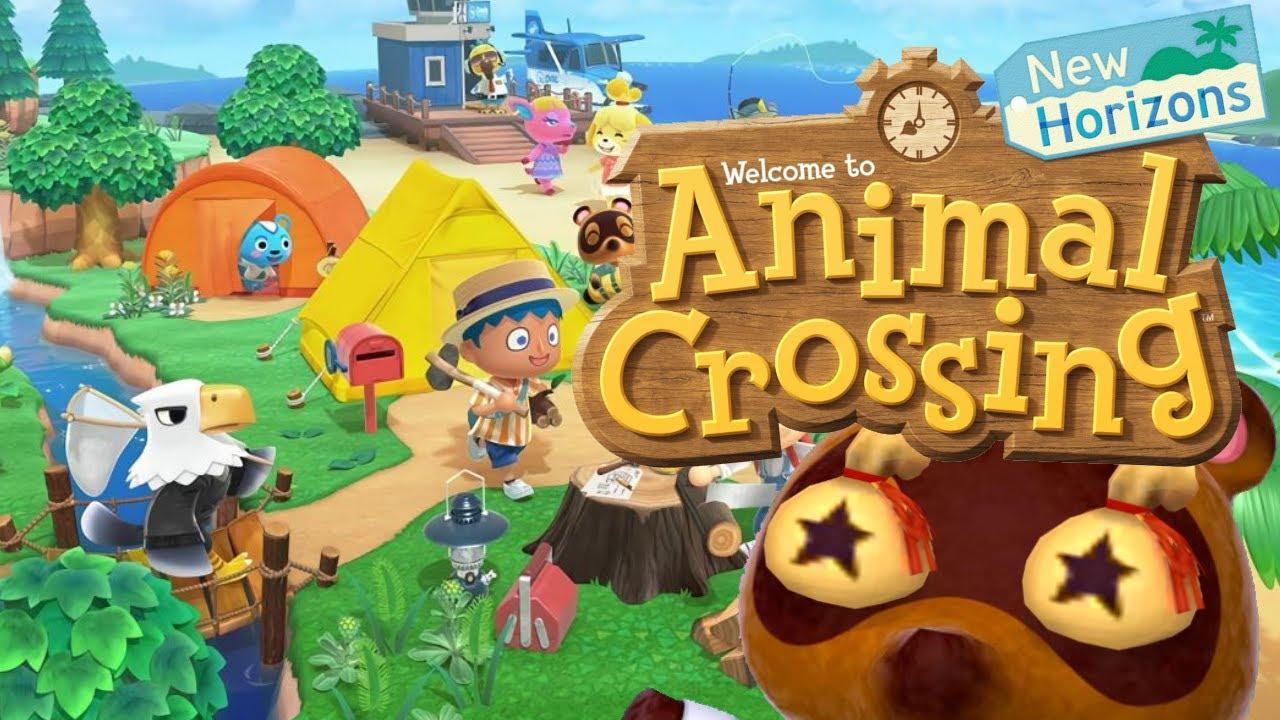 Animal Crossing New Horizons - Birthday Celebration! - YouTube