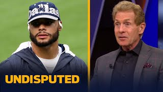 I love Dak Prescott, but he's not worth $40 million a year — Skip Bayless | NFL | UNDISPUTED