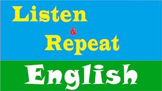 Learn American English★Listen and Repeat Useful Phrases for Conversations in English✔