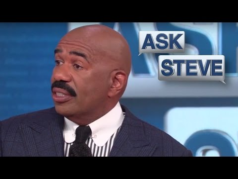 Ask Steve: You look like Taylor Swift || STEVE HARVEY