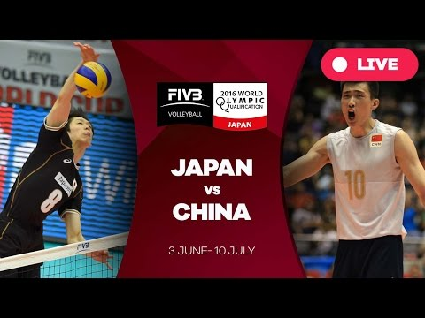 Japan v China - 2016 Men's World Olympic Qualification Tourn