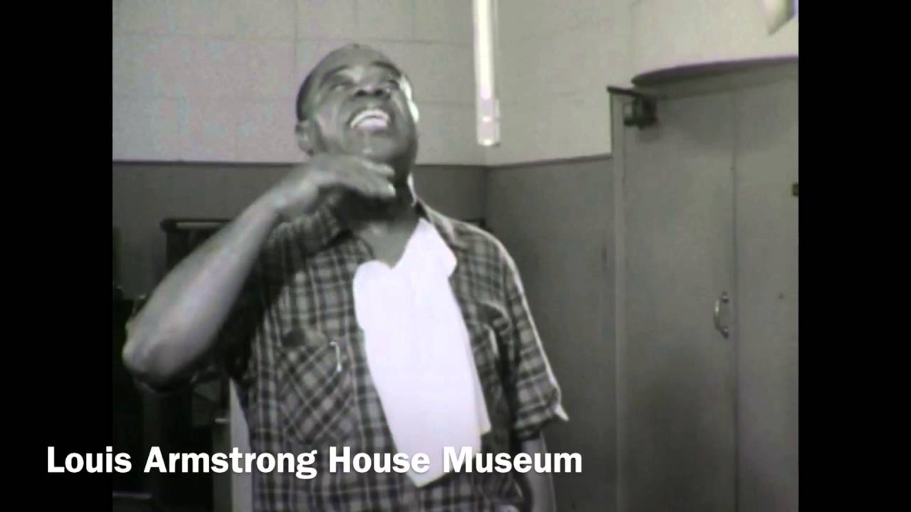 "Newly Discovered Footage of Louis Armstrong Recording ""I Ain't Got Nobody"" in 1959!"