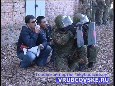 Разгон массовых беспорядков в Рубцовске