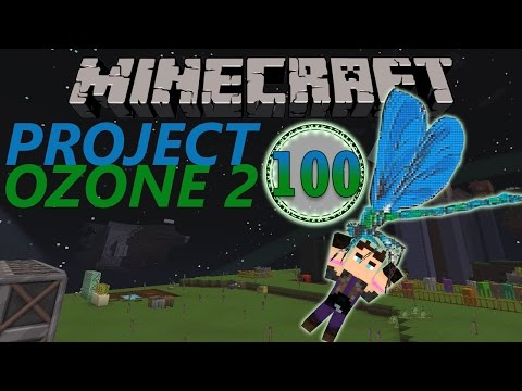 Minecraft: Project Ozone Part 100 - WELCOME TO MY WORLD!