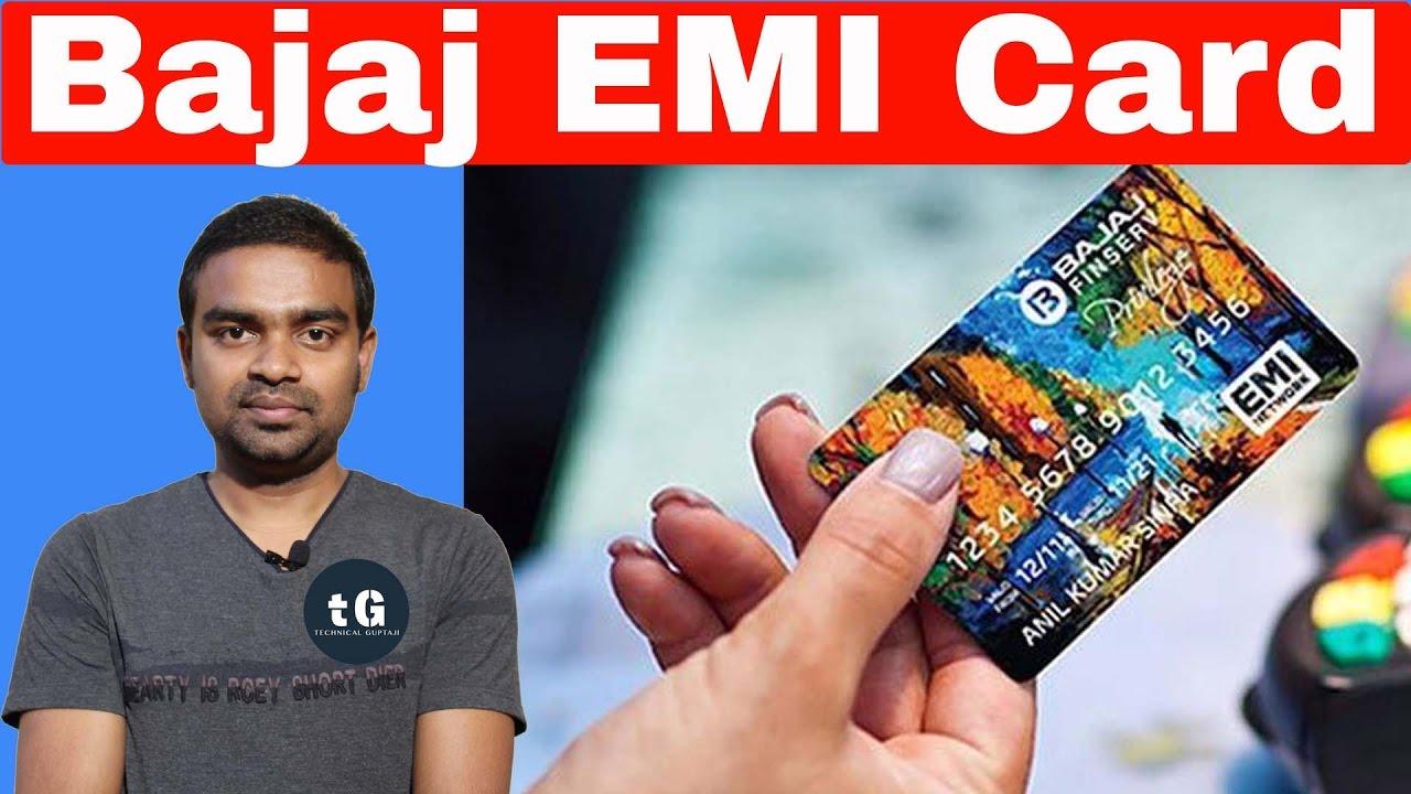 2a316adc9 Bajaj Finance EMI Card