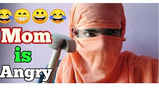 Mom is Angry - Deepak Agrawal | Desi Vines | Funny Comedy Video | Dese Vines