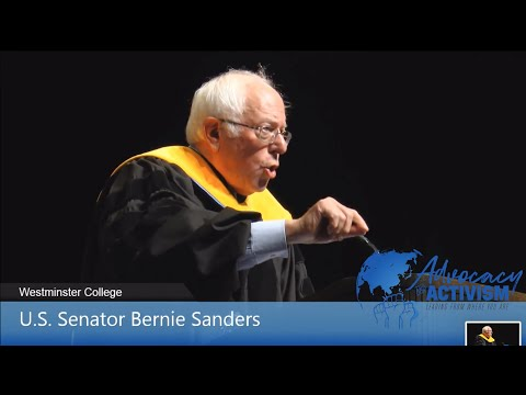 58th Green Foundation Lecture - U.S. Senator Bernie Sanders