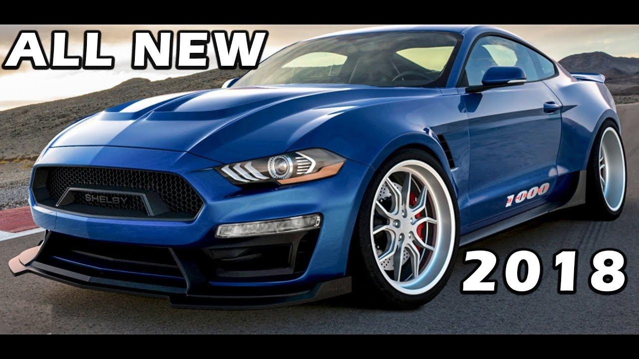 All new 2018 wide body shelby 1000 unveil sound specs