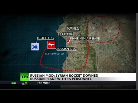 RT America: Russian Military Plane Shot Down, Killing 15