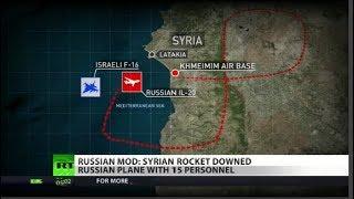 Russian Military Plane Shot Down, Killing 15