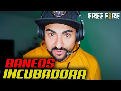 BANEOS POR BUG DE LA INCUBADORA DE FREE FIRE