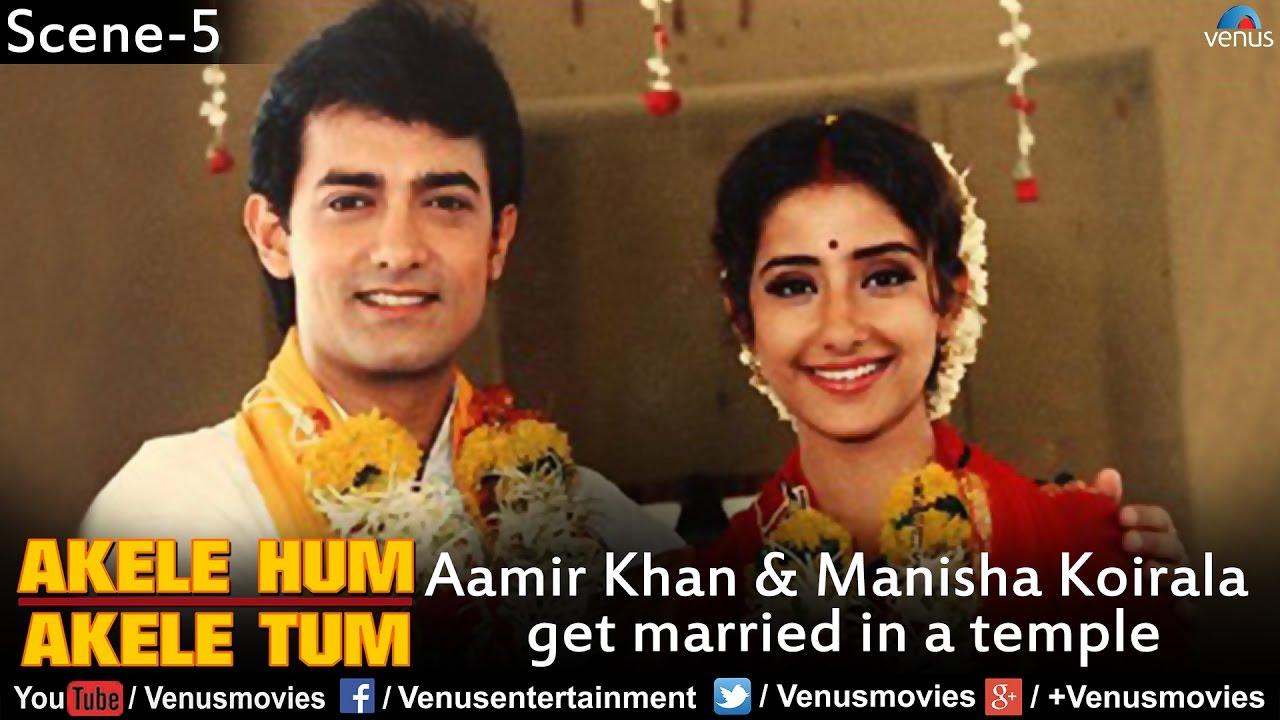 Aamir Khan & Manis...