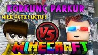 İSMET SİNİRLENDİ HİLE AÇIP UÇTU! - Minecraft KORKU