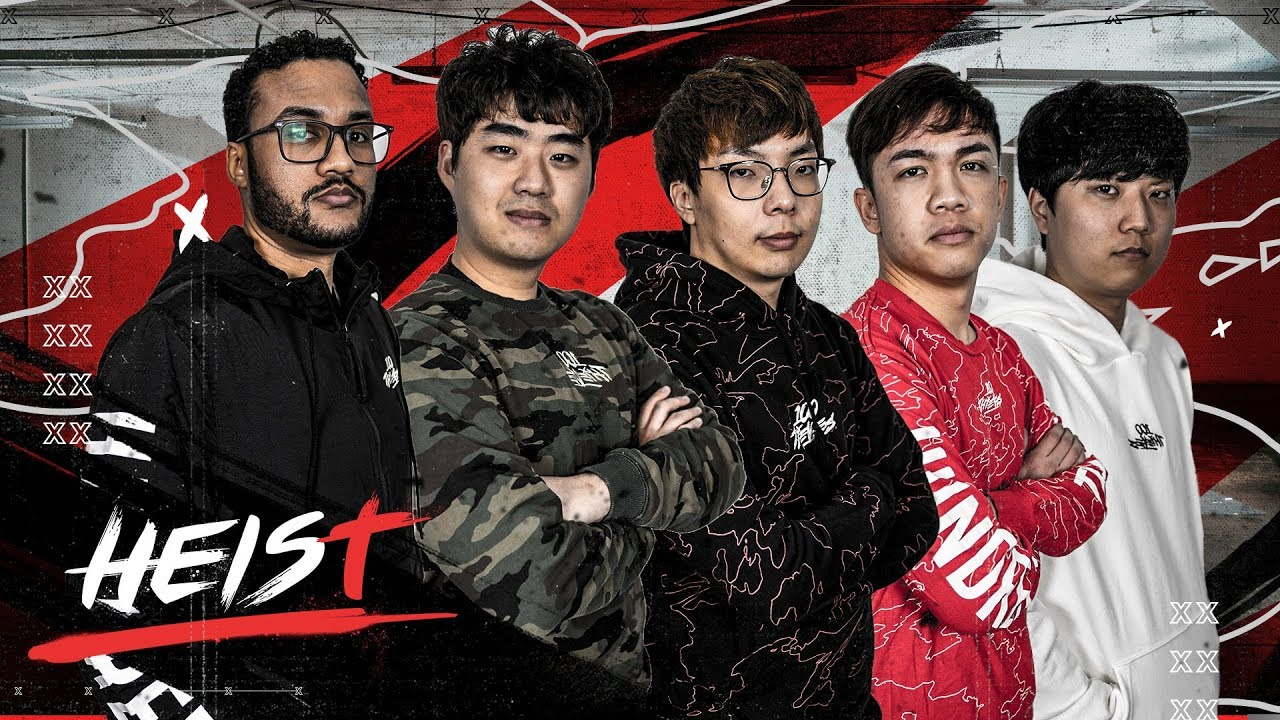 100 THIEVES SIGNS NEW LEAGUE OF LEGENDS ROSTER | The Heist - YouTube