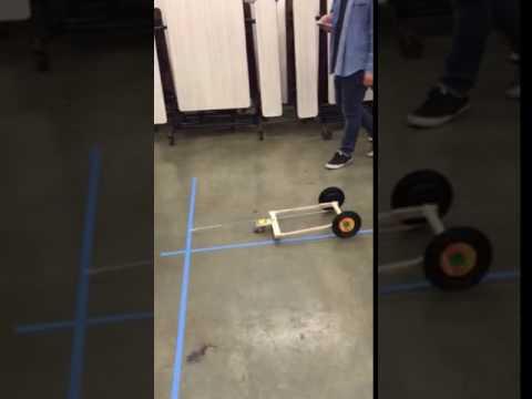 Mousetrap vehicle! Kula elementary school