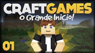 Início de um grande Mini-Game! - Craft Games 01
