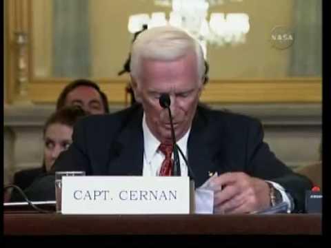 Eugene Cernan's statement on Human spaceflight