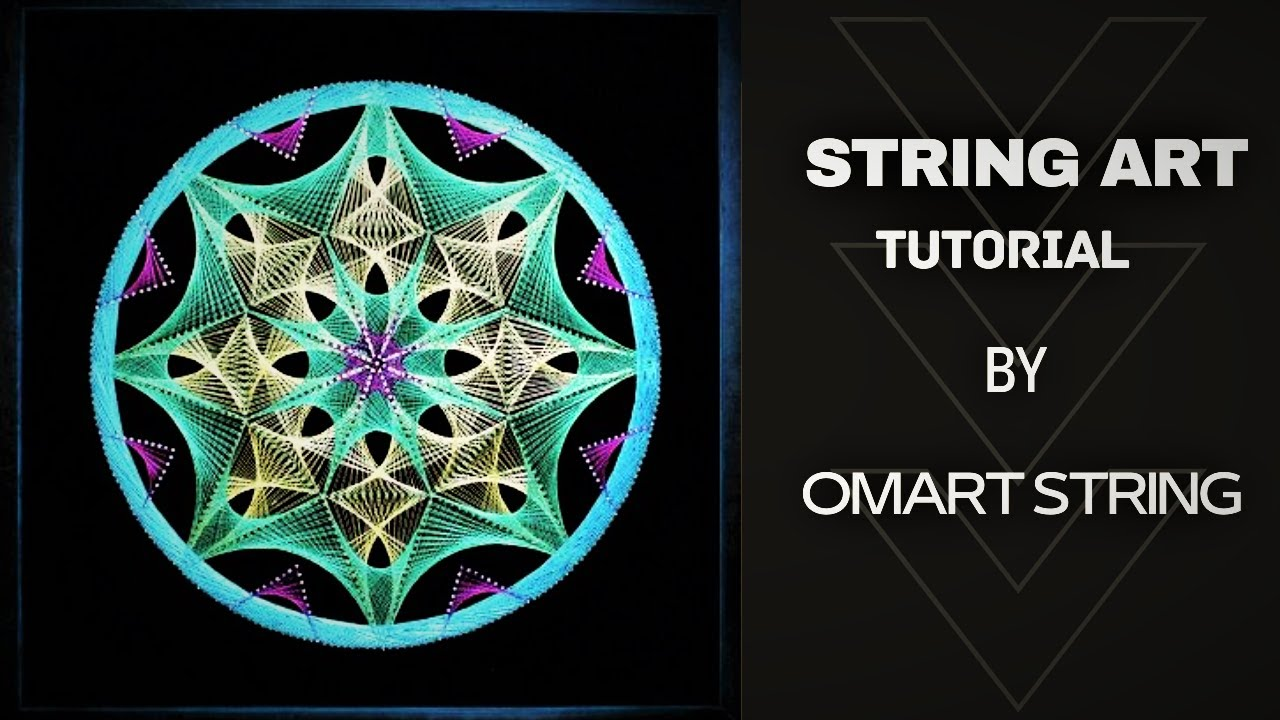 This is an image of Amazing Free Printable String Art Patterns With Instructions