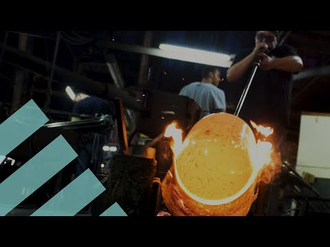 How It's Made: Mouth-Blown Glass