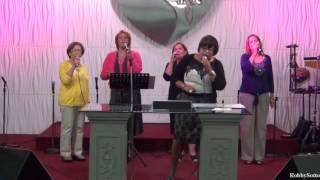 Alabanzas y adoración con ministerio Cantares en agosto 14-2016